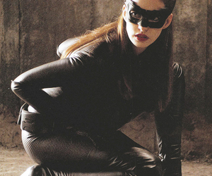 catwoman, Anne Hathaway, and batman image