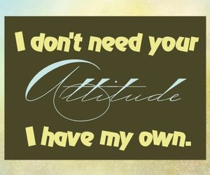 attitude, quotation, and quotations image