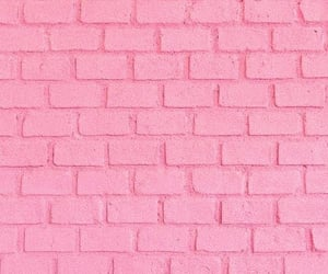 brick, bubble, and pink aesthetic image