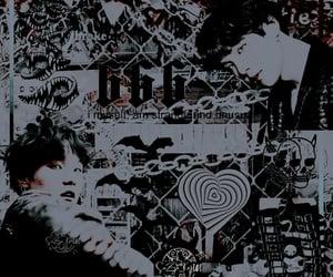 dark, yoongi, and min yoongi image