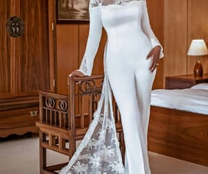 vestido de novia, bridal jumpsuit, and jumpsuit for women image