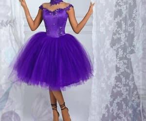 robe de soirée, lace applique prom dress, and vestido de graduación image