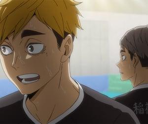 anime, haikyuu, and miya atsumu image
