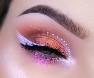 makeup, eye, and eyeshadow image