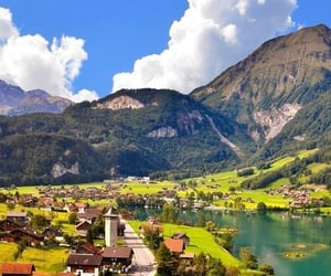 nature, swiss alps, and travel image