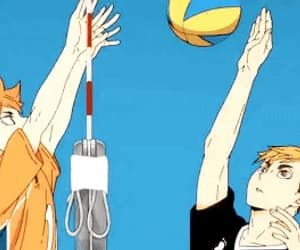 anime, hinata, and atsumu image