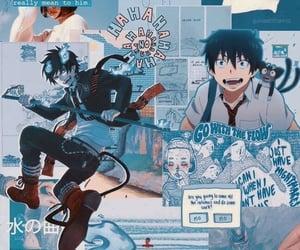 anime, wallpaper, and rin okumura image