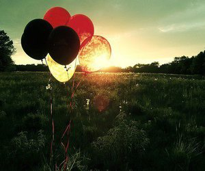 balloons and sun image