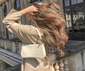 bag, blonde, and hair image