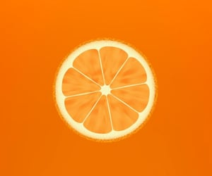 fresco, orange, and naranja image
