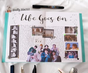 kpop, life goes on, and bts image