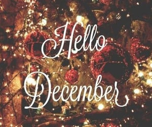 december, hello, and ديسمبر image
