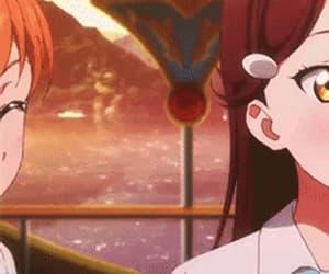 gif and anime girl matching gif image