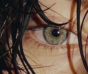 eyes, green, and Harry Styles image
