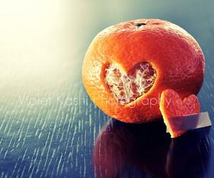 orange, love, and heart image