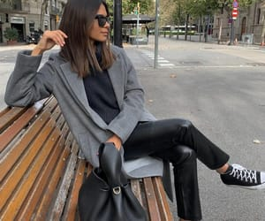 all star, black converse, and blogger image