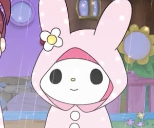 icon, my melody, and sanrio image