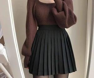 black, korean, and kpop image