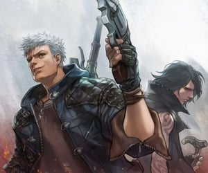 devil may cry, nero, and dmc5 image