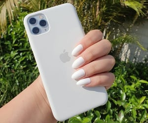 apple, nails, and case image