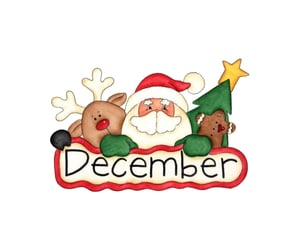 month, hello month, and christmas image