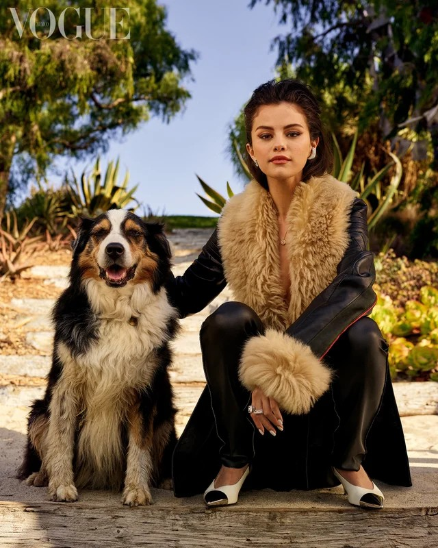 selena gomez, vogue, and singer image