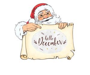 Hello hello baby baby December