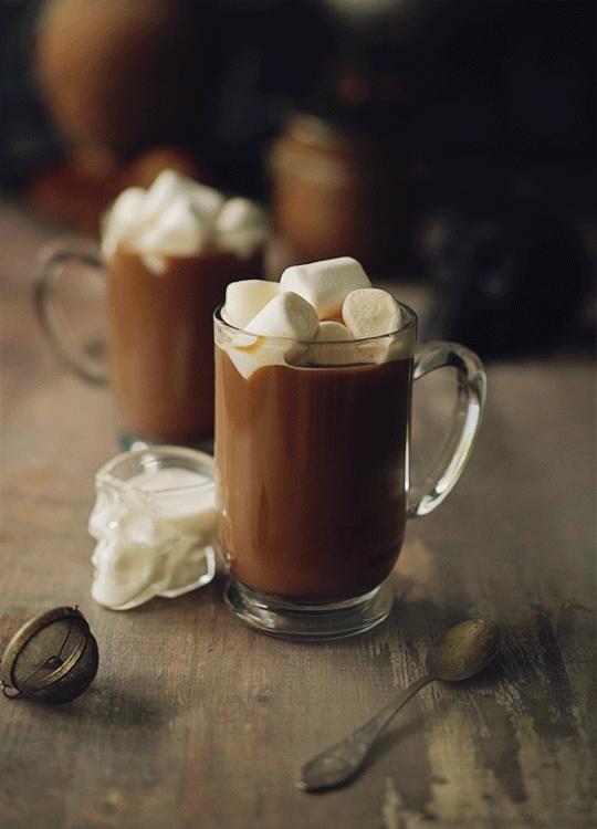gif, autumn, and coffee image