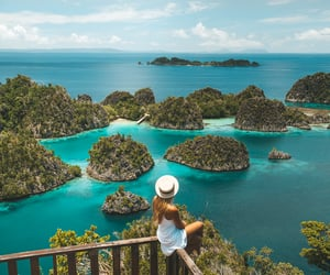 If you're going to Raja Ampat you can't miss a trip to Piaynemo Islands.  You can capture an iconic image of Raja Ampat's islands at the top!  https://hello-papua.com/explore_papua/piaynemo-island/