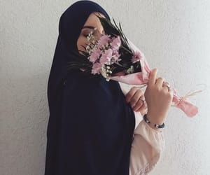 hijab, girl, and tumblr image