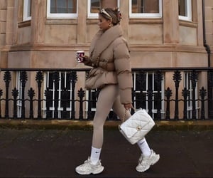 beige, casual, and ootd image