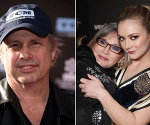 absent father, crazy grandparents, and todd and carrie fisher image