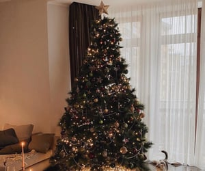christmas, interior, and home image