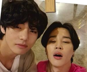 taehyung, vmin, and jimin image