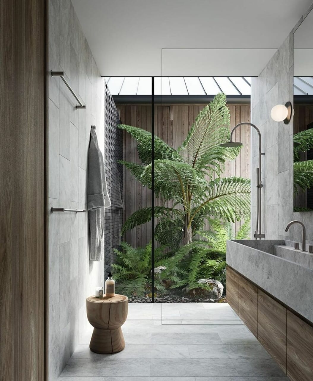 bathroom, interior, and inspiration image