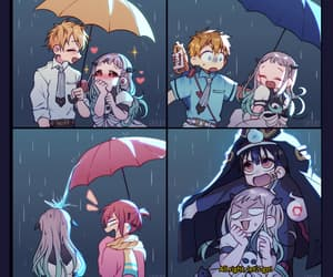 umbrella, toilet bound hanako kun, and anime image