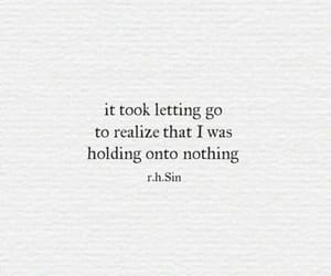 quotes, book, and letting go image