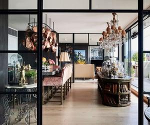 bar, kitchen island, and kitchen image