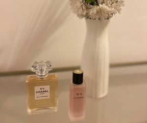 chanel, chanel n5, and parfums image