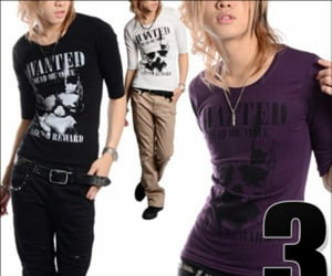 boy, clothes, and gyaruo image