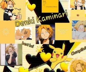 anime, bnha, and denki image