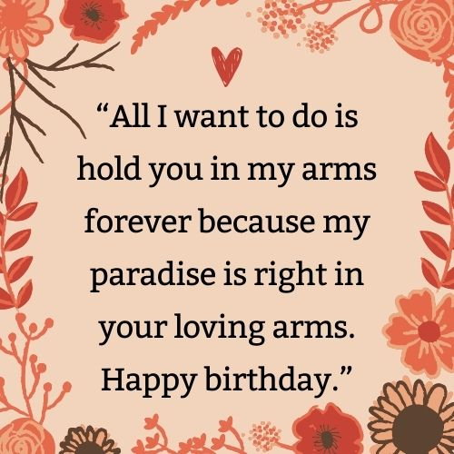 birthday wishes, article, and romantic wishes image