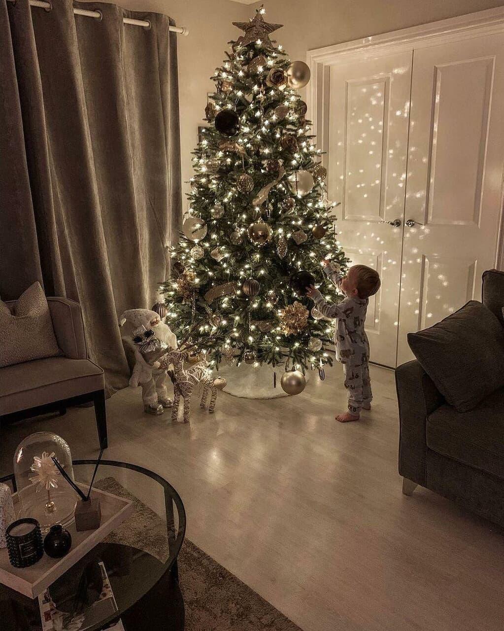 baby, christmas, and home image