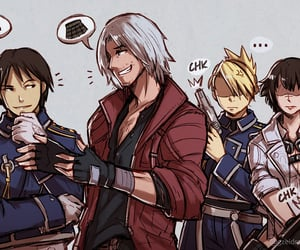 Dante, devil may cry, and fullmetal alchemist image
