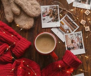 cozy, winter, and coffee time image