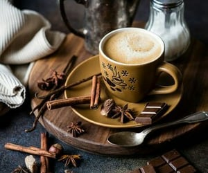 autumn, coffee cup, and coffee cups image