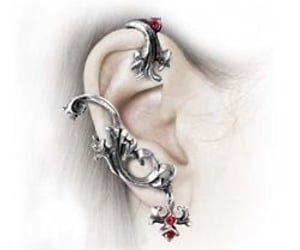 earrings, ball, and Dangle image