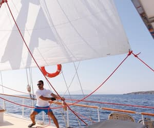 sailing, summerholiday, and ☎ image