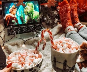christmas, winter, and aesthetic image
