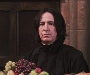 harry potter, severus, and snape image